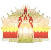Stor tempel Arkivfoto