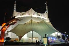 stor tent för cirkus arkivbild