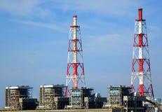 Stor termisk kraftverk Royaltyfri Foto