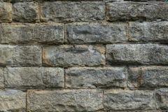 Stor textur för stenvägg Royaltyfria Bilder