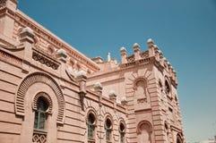 stor theatre för cadiz falla Arkivbilder