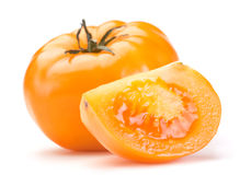 stor tomatyellow Royaltyfri Bild