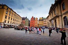 Stor Torget square in Stockholm, Sweden Royalty Free Stock Image