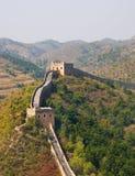 stor tornvägg för porslin royaltyfri fotografi