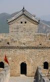 stor tornvägg för porslin arkivbild