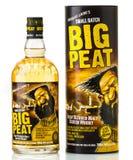 Stor torvwhisky royaltyfri fotografi