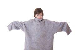 stor tröja Fotografering för Bildbyråer