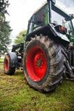 stor traktor Arkivbild