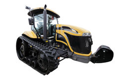 stor traktor Royaltyfria Bilder