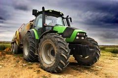 stor traktor Royaltyfri Bild