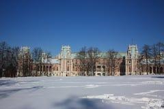 stor tsaritsyno för museumslottreserv Royaltyfri Foto