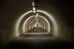stor tunnel Fotografering för Bildbyråer