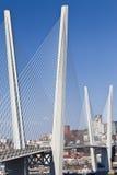 Stor upphängningbro arkivfoton