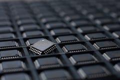 Stor uppsättning av mikrointriger Arkivbild