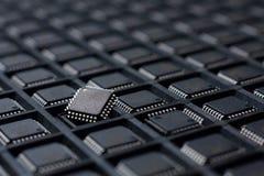 Stor uppsättning av mikrointriger Arkivfoton