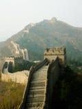 stor vägg Arkivbild