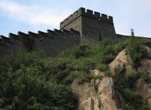 Stor vägg Arkivfoto