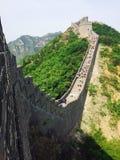 Stor vägg av den Kina maraton Royaltyfri Fotografi