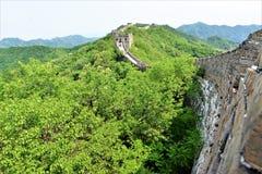Stor vägg av den Kina Peking arkivbilder