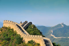 Stor vägg av Kina Arkivbild