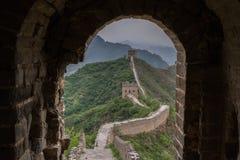 Stor vägg av Kina fotografering för bildbyråer