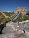 Stor vägg av Kina - Jinshanling nära Beijing Arkivbild