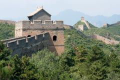 Stor vägg av Kina, Miyun område, Habei, Kina Royaltyfria Foton