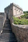 Stor vägg av Kina, Miyun område, Habei, Kina Royaltyfri Fotografi