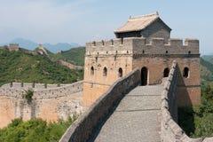 Stor vägg av Kina, Miyun område, Habei, Kina Arkivfoton