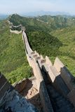 Stor vägg av Kina, Miyun område, Habei, Kina Arkivfoto