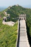 Stor vägg av Kina, Miyun område, Habei, Kina Arkivbilder