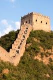 Stor vägg av Kina, Miyun område, Habei, Kina Arkivbild