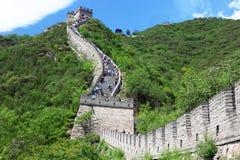 Stor vägg, Beijing Royaltyfri Fotografi