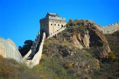 stor vägg för beijing porslin royaltyfria foton