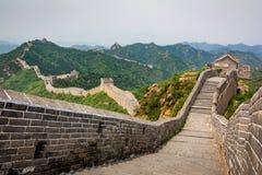 stor vägg för beijing porslin Arkivfoto