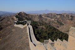 Stor vägg för Mutian dal av Kina Arkivfoton