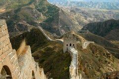 stor vägg för porslin Fotografering för Bildbyråer