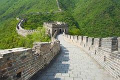stor vägg för porslin royaltyfri bild