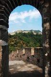 stor vägg för porslin Royaltyfri Foto