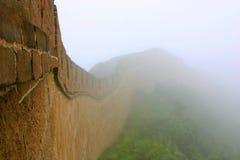 stor vägg för porslin Arkivfoto