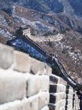 stor vägg för porslin royaltyfri fotografi