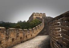stor vägg för porslin Beijing royaltyfri fotografi