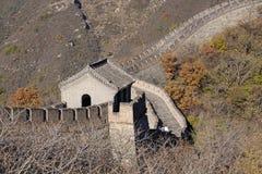 stor vägg för porslin Mutianyu royaltyfri fotografi