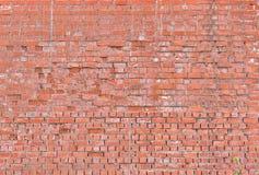 stor vägg för tegelsten Royaltyfri Foto