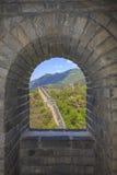 Stor vägg i Kina Arkivbild