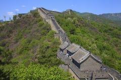 Stor vägg i Kina Arkivfoto