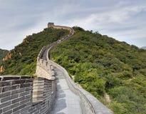 Stor vägg i Kina Arkivfoton