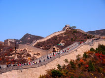 Stor vägg i Kina Royaltyfri Bild