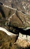 Stor vägg i Peking Kina Royaltyfria Bilder