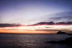 Stor våg i havet Arkivfoto